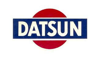 Original Datsun Logo