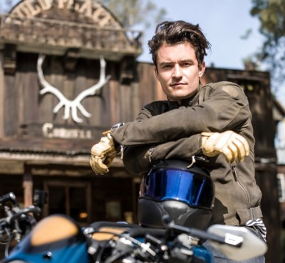 Orlando Bloom Customizes, Rides BMW S 1000 R Motorcycle Motorrad picture