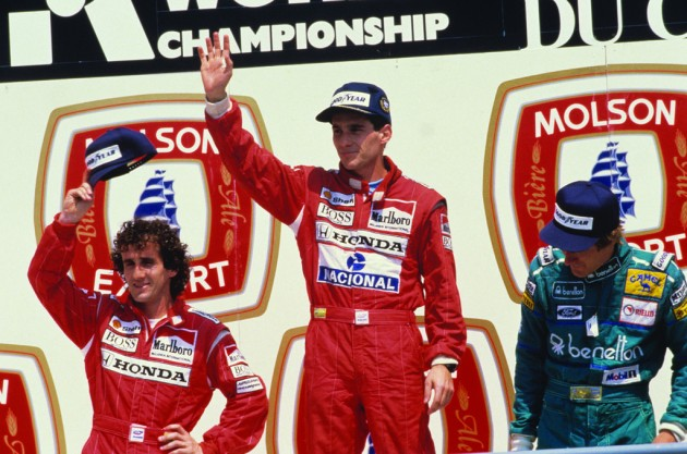 senna and alain prost formula 1 profile