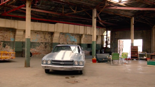 1970 Chevelle SS on Mad Men series finale