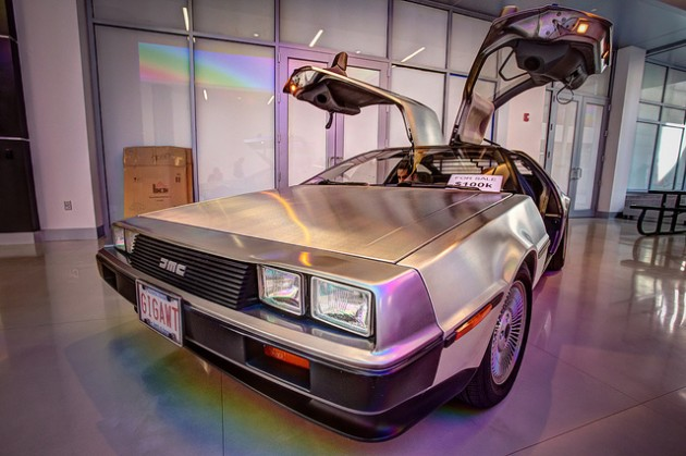 The Life, Death, and Legend of the DeLorean DMC-12 doors open