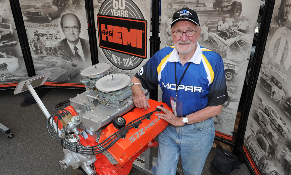 Concours D Elegance >> Tom Hoover, Father of the 426 HEMI, Passes Away | The News Wheel