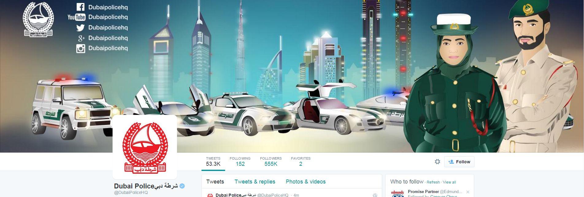 Twitter Banner Image Dubai PD