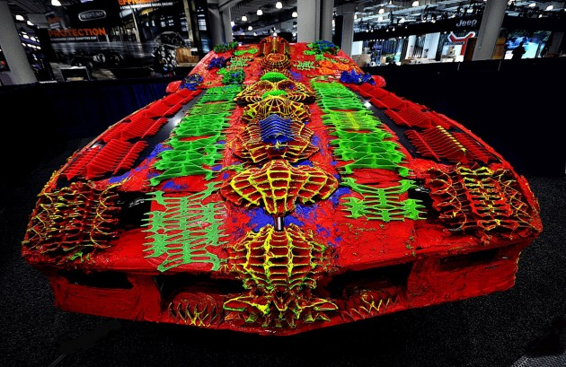Ugly 3D printed Camaro