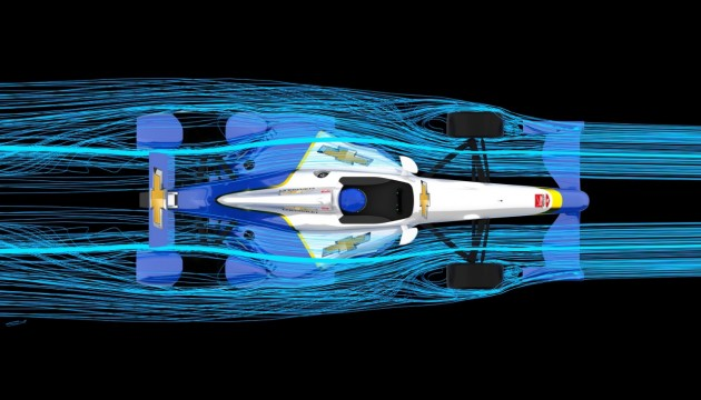 Chevrolet speedway aero kit for Indianapolis 500