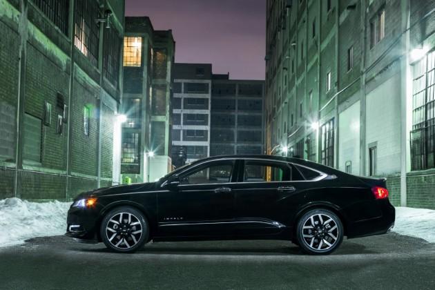 2016 Chevy Impala Midnight Edition