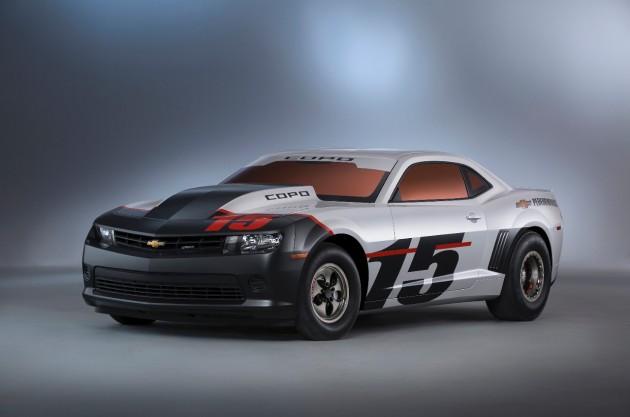 2015 COPO Camaro race car