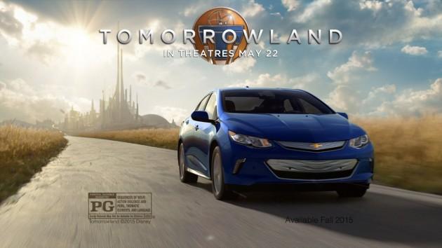 2016 Chevy Volt Tomorrowland ad
