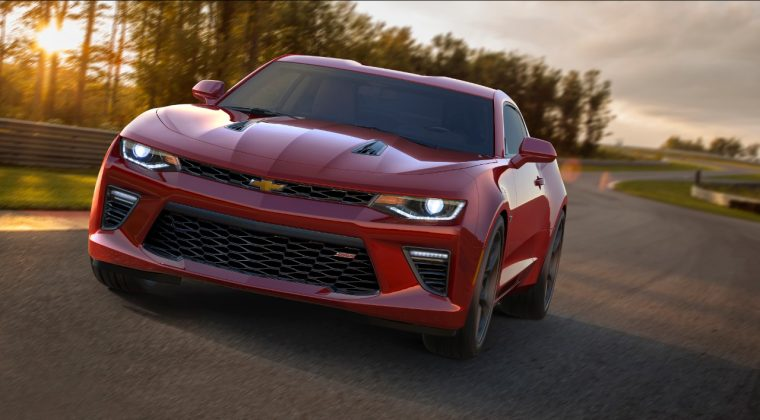 The all-new 2016 Chevy Camaro SS