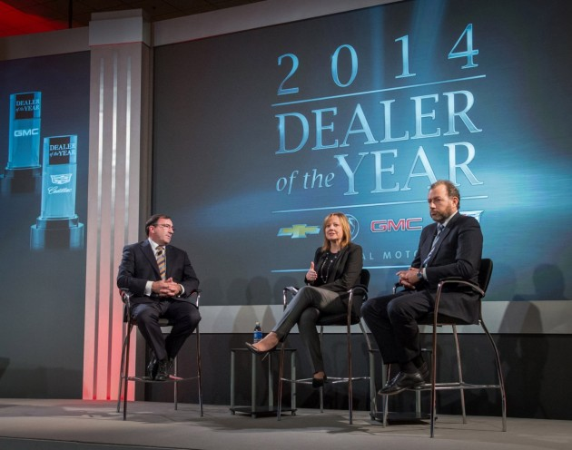 2014 Dealer of the Year awards