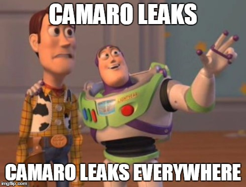 2016 Chevy Camaro Leaks Meme
