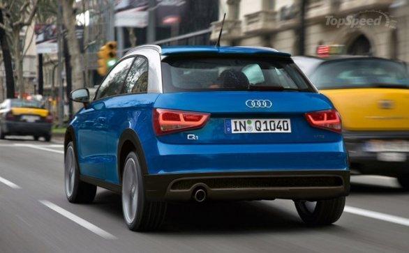 Rendering of Audi Q1 Series
