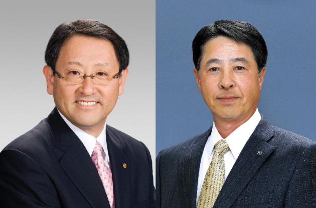 toyoda mazda presidents akio toyoda Masamichi Kogai
