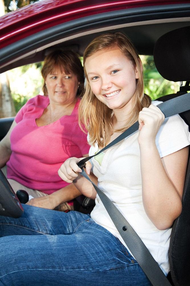 Happy Teen, Terrified Mom