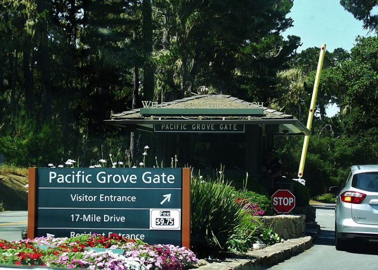 17-mile drive toll - most expensive toll roads in america