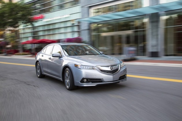 2015 Acura TLX Efficiency
