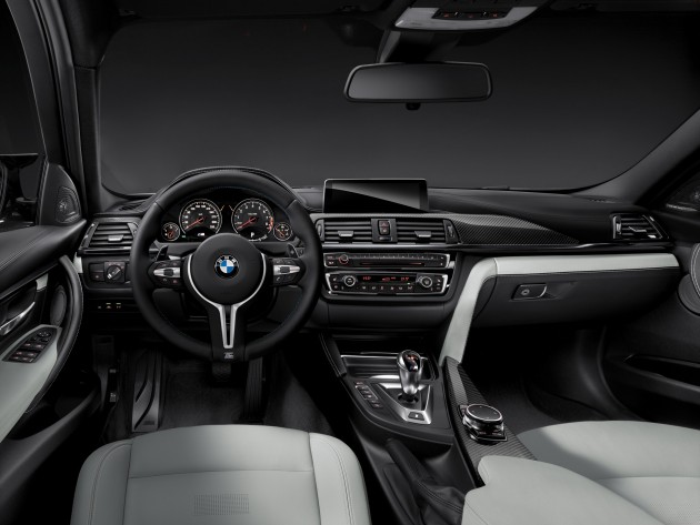 2015 BMW M3 information interior