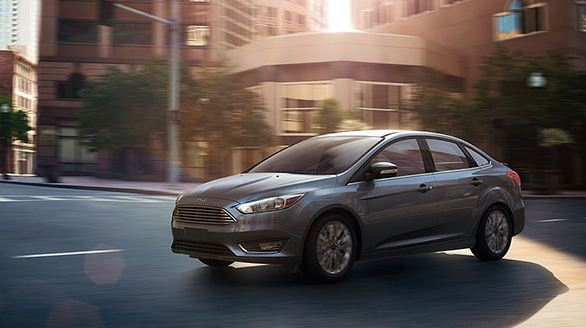 2015 Ford Focus Tectonic Silver