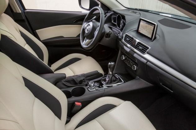 2015 Mazda3 Interior