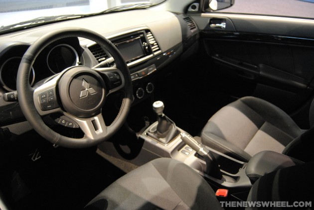 2015 Mitsubishi Lancer Evolution Interior