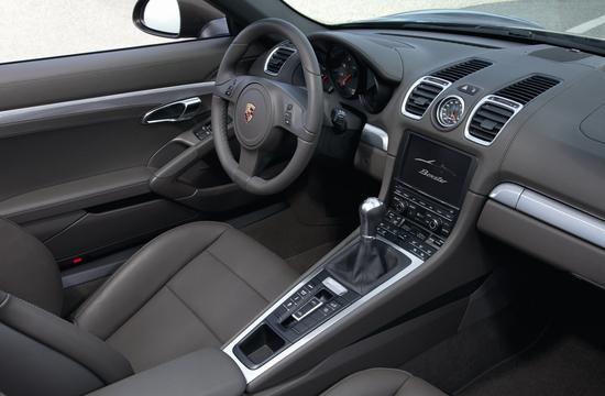 2015 Porsche Boxster Interior