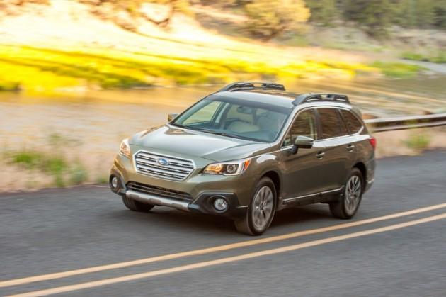 2015 Subaru Outback Efficiency