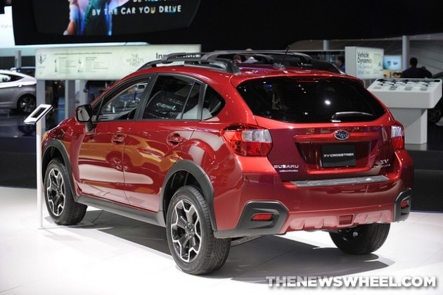 2015 Subaru XV Crosstrek overview