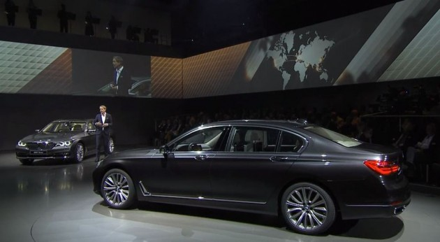 2016 BMW 7 Series Debut Design Details