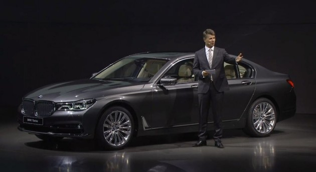 2016 BMW 7 Series Debut Design Details Harald Kruger