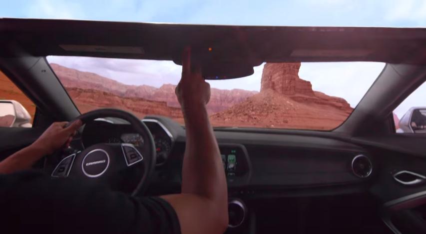Inside the 2016 Chevrolet Camaro convertible