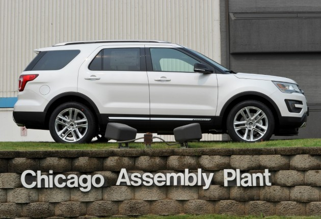2016 Ford Explorer Chicago Assembly Plant (3)