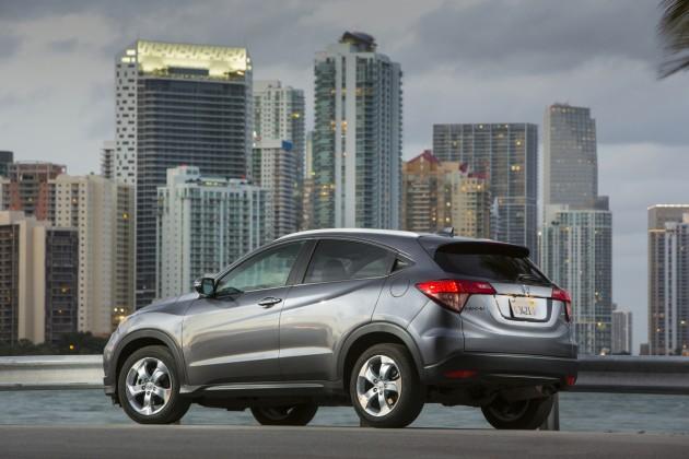 2016 Honda HR-V model overview
