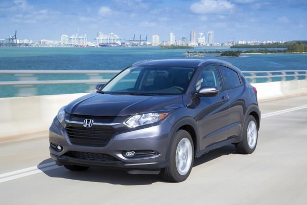 2016 Honda HR-V overview