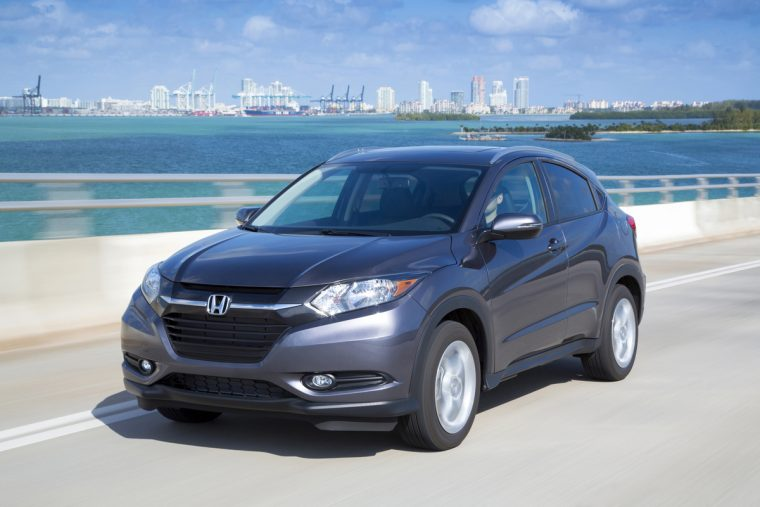 2016 Honda HR-V overview
