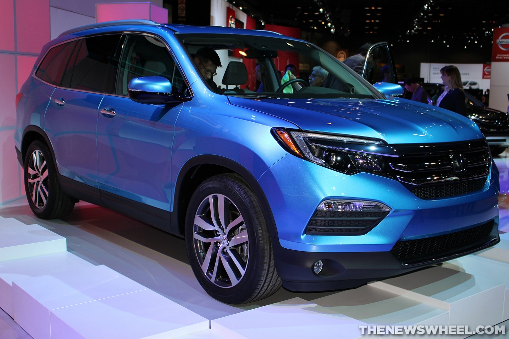 2016 Honda Pilot Blue | The News Wheel