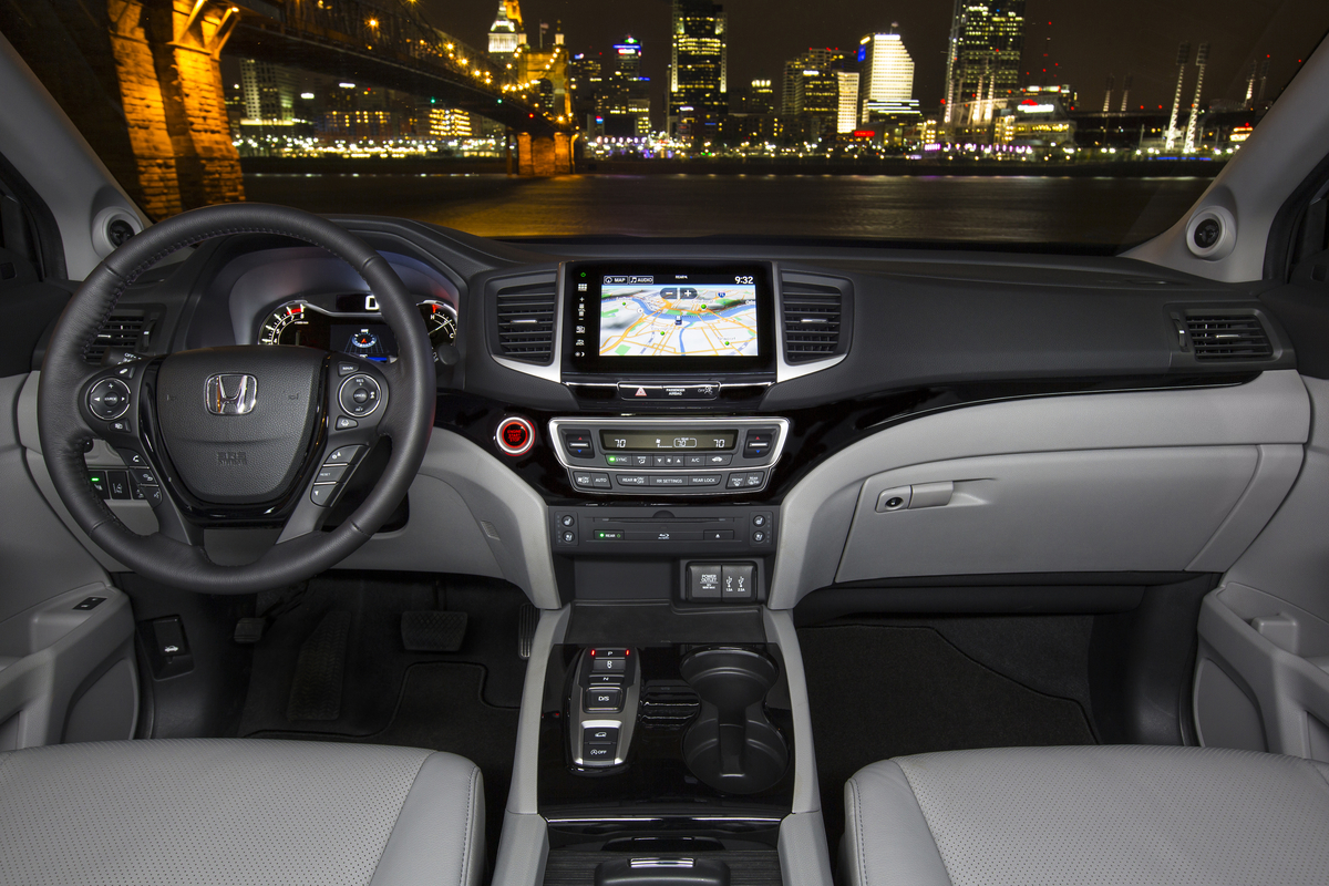 Pictures Of The Redesigned 2015 Honda Pilot html Autos