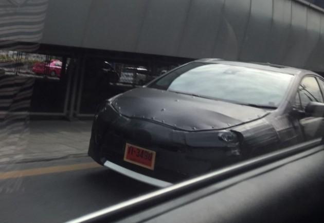 2016 Toyota Prius spy shot Prius Prime
