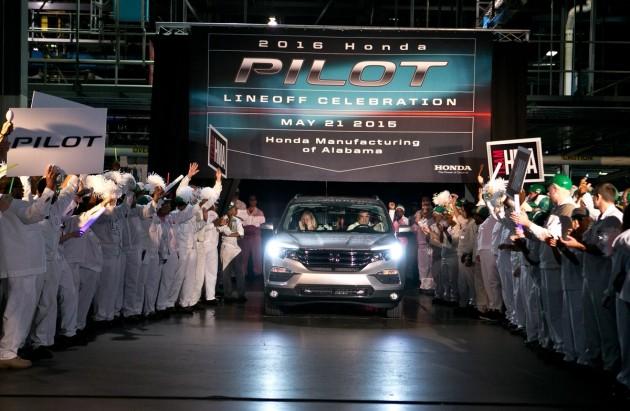 Associates at Honda Manufacturing of Alabama, in Lincoln, Alabama
