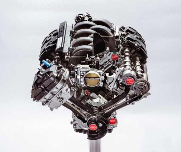 Ford's Flat-Plane Crankshaft V8 Gets 526 Horsepower