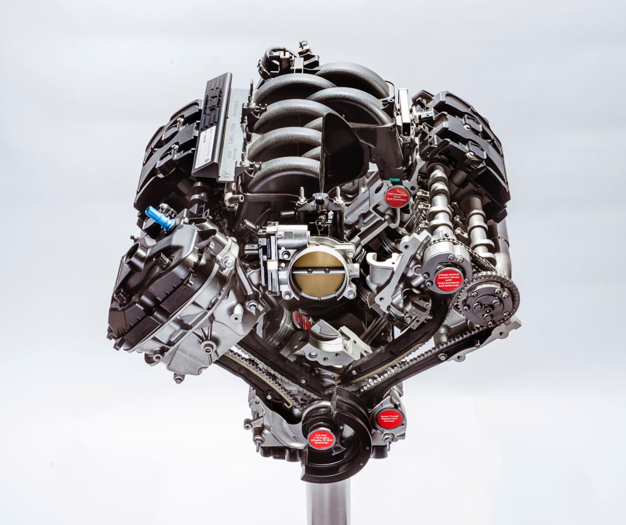 5.2-liter Flat-plane Crankshaft V8 Shelby GT350 (2)