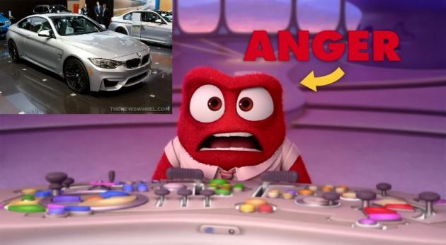 Anger Inside Out Car
