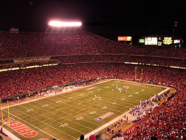 Arrowhead Stadium - Kansas City - best games and stadiums to tailgate