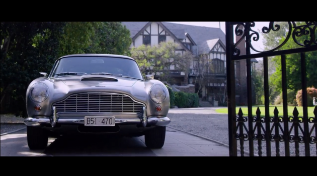 A vintage 1964 Aston Martin DB5
