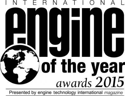 BMW i8 2015 Engine of the Year award (a)