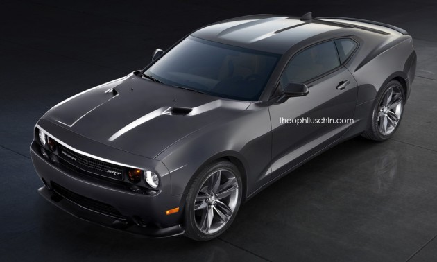 Dodge Chevy Ford Chamarang Is An American Muscle Car Hyrdra The