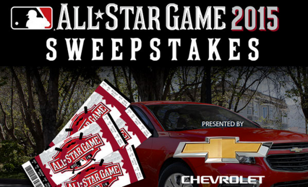 The Chevrolet All-Star Game 2015 Sweepstakes