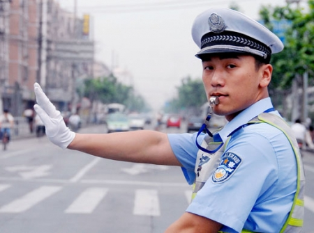 Chinese Traffic Police