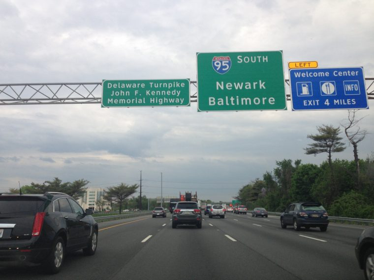 Delaware Turnpike toll - most expensive toll roads in america