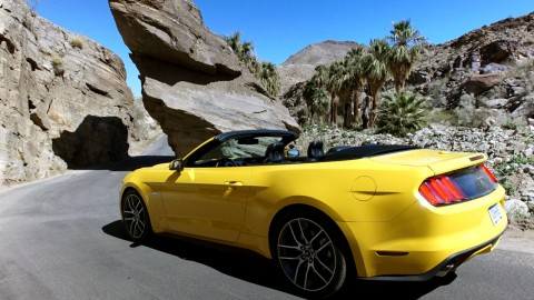 2015 Ford Mustang Convertible Peformance