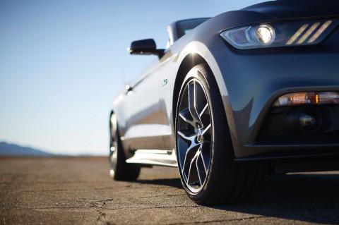 2015 Ford Mustang Convertible Interior